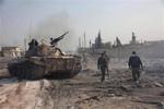 Quân đội Syria tấn công phiến quân, mở đường đưa VKHH ra nước ngoài