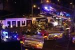 Trực thăng cảnh sát Scotland rơi trúng quán rượu