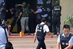 Trung Quốc bắn chết 8 kẻ cầm dao, thuốc nổ tấn công đồn cảnh sát