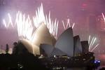 Màn bắn pháo hoa năm mới thu hút hơn 1 tỉ người theo dõi tại Sydney