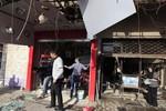 Đánh bom liều chết tại trụ sở Bộ Giao thông vận tải Iraq