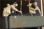 Mỹ và Libya bí mật tiêu hủy 2 tấn vũ khí hóa học