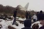Video: Rơi máy bay quân sự ở Algeria, ít nhất 77 người thiệt mạng