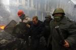 Nhà Trắng yêu cầu Tổng thống Ukraina rút quân khỏi trung tâm Kiev