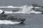 Tàu tuần tra Triều Tiên xâm nhập lãnh hải Hàn Quốc trong đêm
