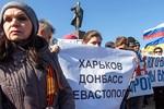 Moscow lên án vụ tấn công người biểu tình ủng hộ Nga tại Ukraine