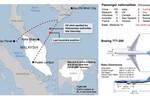 Máy bay Malaysia đã chệch hướng về phía tây 500km sau khi mất tích