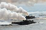 Ảnh: Hàn Quốc nã đạn pháo đáp trả Triều Tiên