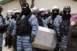 Ukraine bắt giữ 12 thành viên Berkut bị cáo buộc bắn người biểu tình