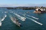 Mỹ chỉ tham gia một phần lễ duyệt hạm tại Trung Quốc