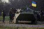 Tiếng súng nổ tại Kramatorsk, Ukraine khống chế sân bay quân sự