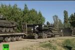 Nga công bố video rút quân khỏi biên giới Ukraine