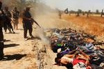 ISIS tuyên bố hành quyết 1700 binh sĩ Iraq