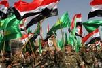 Người Shiite diễu hành tại Iraq phản đối các tay súng người Sunni
