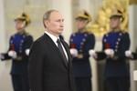 Putin yêu cầu Thượng viện thu hồi quyền khởi động quân sự ở Ukraine