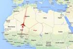 Máy bay Algeria mất tích rơi ở khu vực do lực lượng nổi dậy kiểm soát