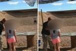 Video cháu bé 9 tuổi vô tình bắn chết thầy hướng dẫn gây tranh cãi