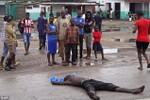 Nạn nhân Ebola ở Liberia bị chó hoang đào xác lên ăn thịt
