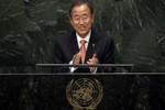 LHQ phủ nhận tin Kim Jong-un mời ông Ban Ki-moon thăm Triều Tiên