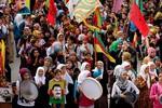 Người Kurd trên khắp thế giới biểu tình ủng hộ Kobani