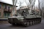 OSCE phát hiện xe quân sự chở thi thể lính Nga ở Đông Ukraine