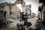 Ảnh: Những vũ khí kỳ dị của khủng bố IS ở Syria