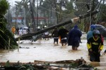 Ảnh: Bão Hagupit tàn phá Philippines
