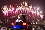 Ảnh: Thế giới tưng bừng đón năm mới