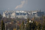 Ukraine thừa nhận thất bại ở sân bay Donetsk