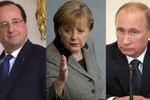 Tại sao lãnh đạo Đức, Pháp phải đích thân đến Moscow gặp Putin?