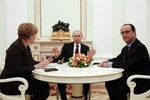 Kiev tiết lộ nội dung đàm phán với Đức, Pháp