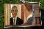 """Video: Tổng thống Mỹ """"nhí nhảnh tự sướng"""""""