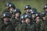 Nga tăng cường tập trận, các nước Baltic ngày càng hốt hoảng