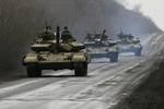 Kiev công bố kế hoạch điều thêm xe tăng tới Donbass.