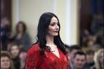 Ảnh: Nữ dân quân Donetsk thi sắc đẹp Ngày 8/3