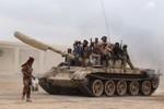Ả Rập Saudi điều thiết bị quân sự hạng nặng tới biên giới với Yemen