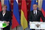 Putin: Chính phủ Poroshenko mới là người giải quyết được xung đột ở Donbass