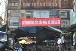 Chợ Thành Công mới sẽ đảm bảo mô hình chợ truyền thống