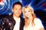 """Lộ ảnh """"thân mật"""" của Lam Trường với Britney Spears, Kim Nam Joo"""