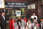 Đại tướng Võ Nguyên Giáp sẽ yên nghỉ ở Vũng Chùa, Đảo Yến