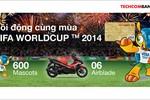Quà tặng đặc biệt cho khách mở tài khoản Techcombank dịp World Cup