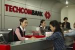 """""""Lãi"""" 1.163 tỷ đồng, Techcombank hoàn thành 98,5 kế hoạch năm"""