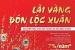 """Vay """"Lãi vàng đón lộc xuân"""" tại Vietinbank: Lãi suất chỉ từ 7%/năm"""