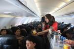 Trở thành tiếp viên trưởng của hãng hàng không Vietjet: Không khó!