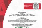 Công ty PROCONCO thương hiệu Con Cò được cấp chứng nhận Global GAP