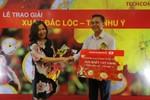 """Techcombank trao thưởng 1 kg vàng chương trình """"Xuân đắc lộc – Tết như ý"""""""