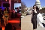 Ngọc Trinh: Hoa hậu 'ao làng', catwalk nhà hàng và rào cản truyền hình