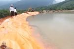 Hồ chứa nước ở Quảng Ngãi tiềm ẩn nhiều nguy hiểm