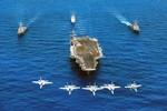 Nhóm tác chiến tàu sân bay USS Carl Vinson của Hoa Kỳ sắp cập cảng Đà Nẵng
