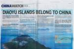 Trung Quốc chi 250 ngàn USD quảng cáo Senkaku trên New York Times